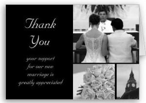 ... thank you card p137105188903937578qj10 400 Wedding Thank You Quotes
