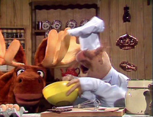 Episode 220 Mickey Moose helps the Chef make