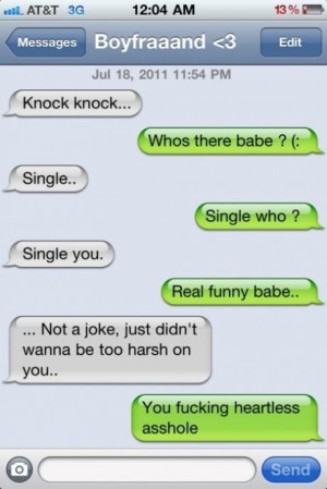 Knock knock – Funny Joke