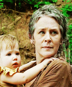 Carol and Judith ~ The Walking Dead