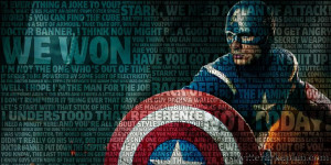 Captain America Quote L Twitter Kapak