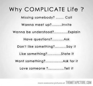 Funny photos funny complicated life quote
