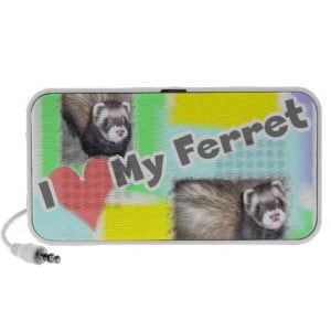 Cute Ferret Pictures Sayings and Quotes Travel Speakers