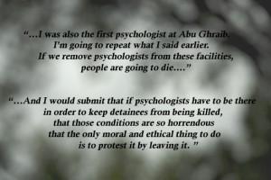 American Psychological Association Council Debate on Interrogations ...