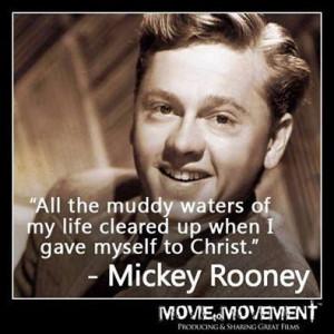 God Speed Mickey Rooney