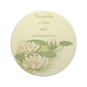vintage_water_lilies_quote_coasters-r2bc069b88763423a8a6f36052ee2c2f6 ...