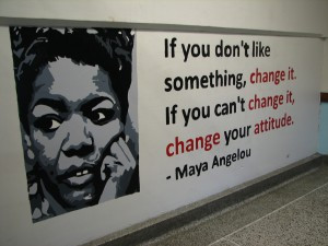 One of dozens of inspirational quotes by famous authors and Bay View ...