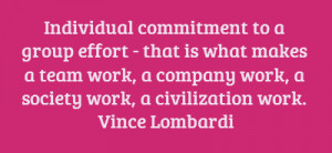 Team Commitment Quotes