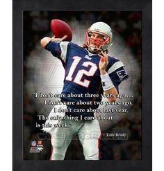 Football Awesomeness + Tom Brady Quotes