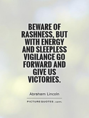 Abraham Lincoln Quotes Victory Quotes