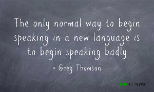 Inspirational Quotes Learning English Language ~ Frustrating or Fun ...