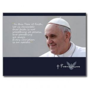 pope_francis_quote_papa_francisco_palabras_postcard ...
