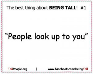 Funny Tall People Quotes Funny things tall people hear