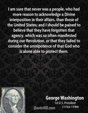 Divine interposition in their affairs, than those of the United States ...