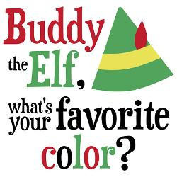 buddy_elf_favorite_color_drinking_glass.jpg?height=250&width=250 ...