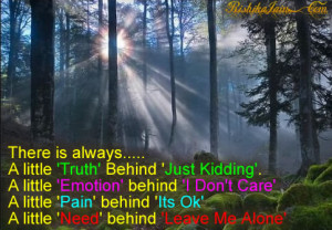 Truth Quotes, Pictures, Emotions, Feelings, Pain, Inspirational Quotes ...