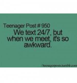 cute, quote, quotes, moments, awkward, couple, love, teenagerpost ...