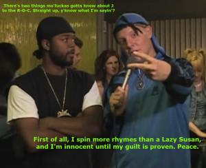"""Roc says """"kno' wa' sayyyyn."""