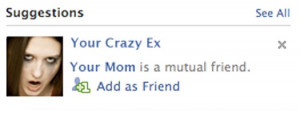 Problem: Inappropriate automated friend suggestions