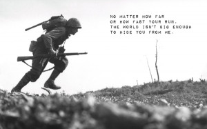 Military Quotes About Death Soldiers fate death grayscale