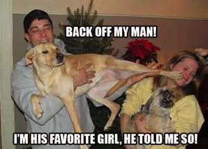 Back off my man