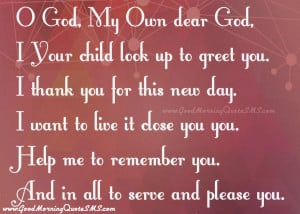 God Good Morning Quotes, God Thank You Images, Wallpapers, Photos ...