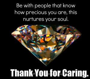 Thank You for Caring Positive Quotes Inspiration ~ Positive Words ...