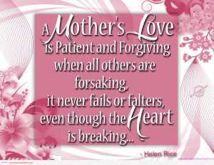 Sharing Saturdays – Mother's Day