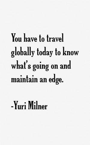 Yuri Milner Quotes & Sayings