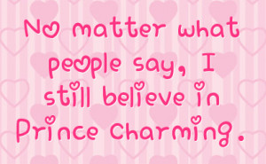 My Prince Charming Quotes