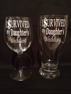 Survived My Daughter's Wedding, Funny Parent Gift for Mother ...