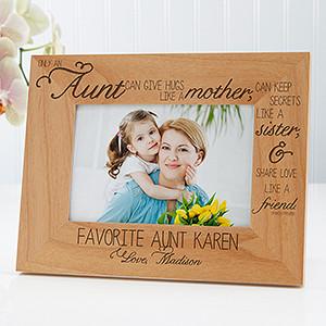 Aunt Gift Verse Wood Plaque