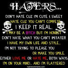 Quotes About Haters And Hoes Hater Quotes