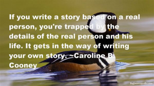 Writing Your Own Story Quotes