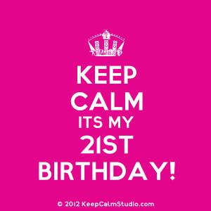 21st Birthday – Ideas for Celebrations