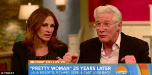 Not a clue! Gere obviously hadn't watched Pretty Woman in years, while ...