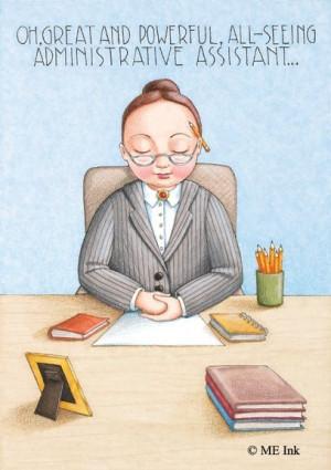 No. 83: Administrative Assistant