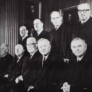 supreme court chief justice earl warren