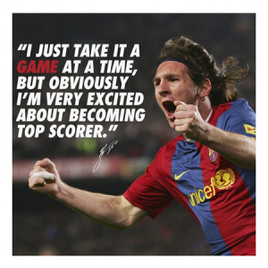 Messi Quotes About Soccer Inspirational soccer quotes