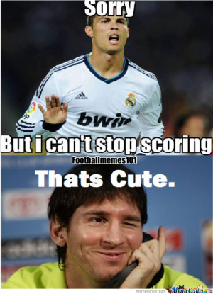 Ronaldo Gets Owned By Messi