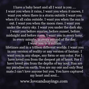 You captured my heart and soul … | Love and Sayings