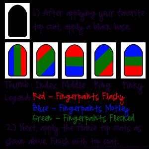 Nail Art Wednesday: Flakie Rainbow Nails