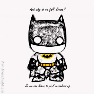Mini-Batman. And quote. by DHouse1985