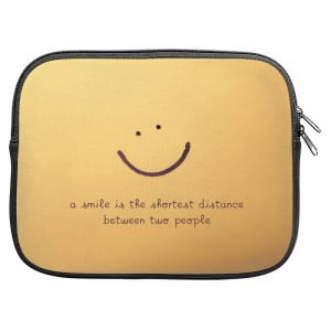 Nice Smile Quotes Zipper Pouch