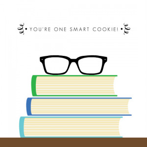 Smart Cookie Congratulations Card by PurpleTrail.com.