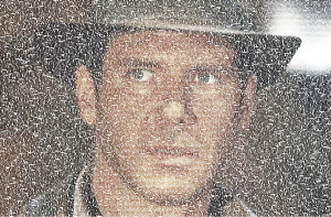 Indiana Jones Quotes Mosaic Photograph