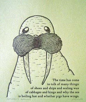 The Walrus and The Carpenter - Lewis Carroll, 1872, from Through The ...