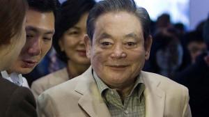 Hospitalised: Samsung Electronics Chairman Lee Kun-hee. Photo: Reuters