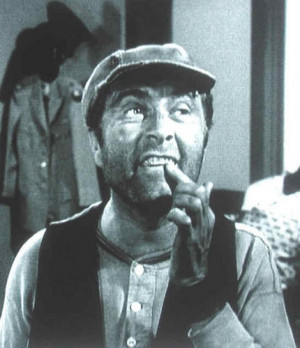 Ernest T. Bass saving up for his gold tooth!LOL!! Ah, he is SOO funny ...
