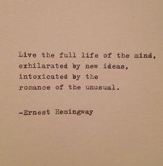 Hemingway Quotes